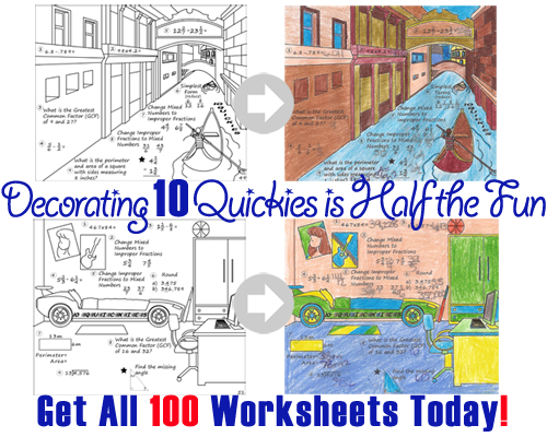Get 100 Math Review Worksheets Here